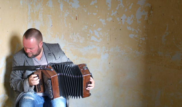Accordeonist David Munnelly. Foto: PR