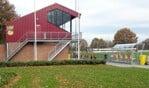 Enn nieuwe trap en een nieuwe dugout bij Vios. Foto: PR Vios