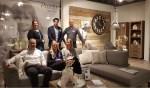 Het team van Pronto Zutphen met links op de bank bedrijfsleider Mark Wolters. Foto: Luuk Stam