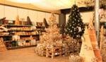 Eén van de afdelingen met kerstdecoratie. Foto: Lydia ter Welle