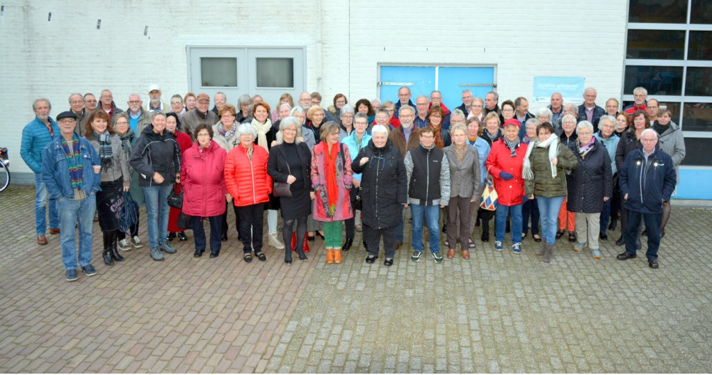 De Dorcas-vrijwilligers. Foto: PR