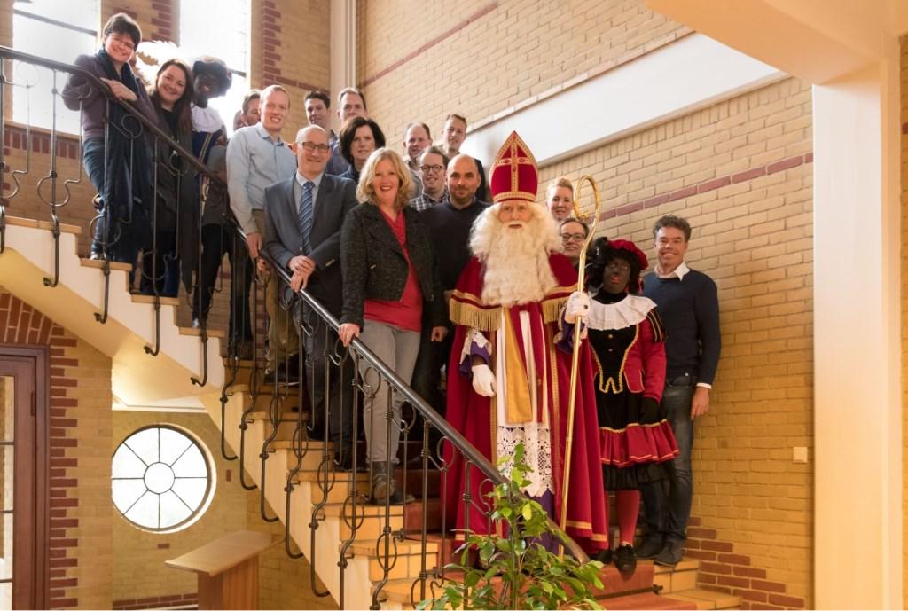 De VVD-kandidaten. Sint en Piet staan niet op de lijst. Foto: PR