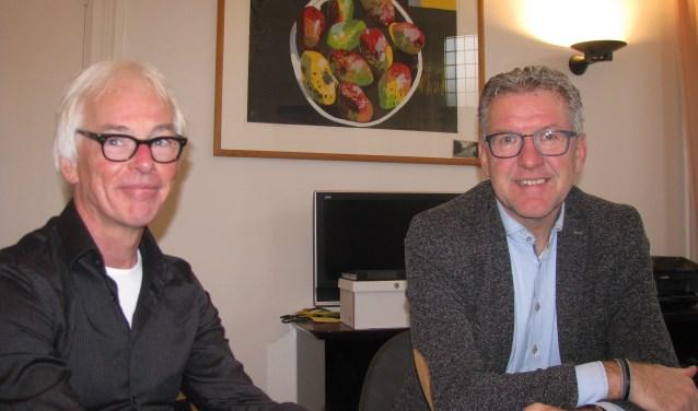 Frank Feliks en Tonnie Zieverink. Foto: Ferry Broshuis