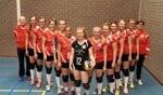 Het eerste damesteam van Skopein-Wivoc. Foto: PR