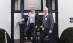 Herman Simmelink (links) en Frans ter Bogt. Foto: PR