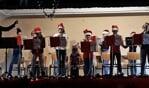 Het Veldshoeksorkestje onder leiding van Mirjam v.d. Burg. Foto: PR