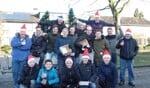 Een ven de diverse verkoopteams van de Kerstactie van VV Ruurlo. Foto: Jan Hendriksen.