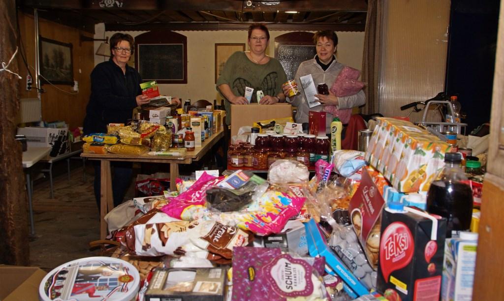 """De vrijwilligers van de kerstactie: """"'t Geet niet um ons'."""