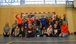 Enthousiaste sporters bij G-sportinstuif. Foto: Karin Stronks