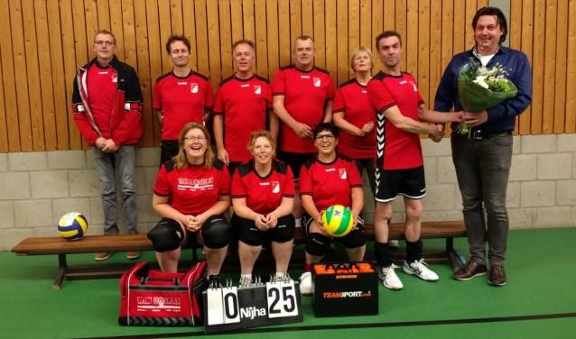 Mix 1 S.V. Sociï volleybal in het nieuw