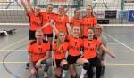 Het kampioenschap betekent voor de meiden promotie van de tweede klasse naar de eerste klasse. Foto: PR.