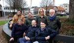 Voor Vorden Van Vorden: staand Frank Scheffer, Riske Legtenberg, Ingrid Keizer enJan Ilsink; zittend Bart Veen, Maarten Smit enMarnix Meijer.Foto: Liesbeth Spaansen