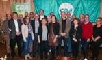 Een groot deel van de CDA-kandidaten, met vooraan in het midden lijsttrekker Ilse Saris. Foto: PR