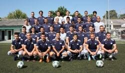 Met veel machtsvertoon werd door FK Brodarac vorig jaar de titel voor de neus van grootmachten als Partizan en Rode Ster weggekaapt hetgeen het team een plek in de UEFA Youth League opleverde. Foto: PR