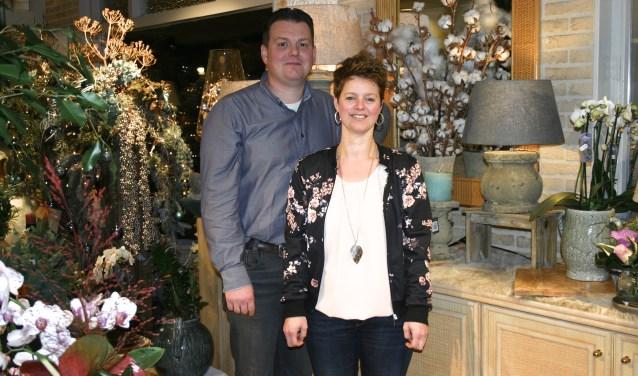 Ferry en Wendy hebben het 'stokje' overgenomen. Foto: Jan Knoef