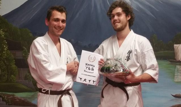 Bas Roemaat is 12,5 jaar lid van karatevereniging Mu Chin Zieuwent. Foto: PR