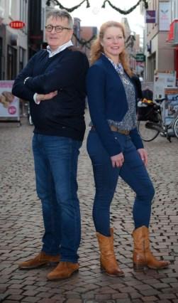 Harrie Garritsen en Ria Bussink. Foto: PR