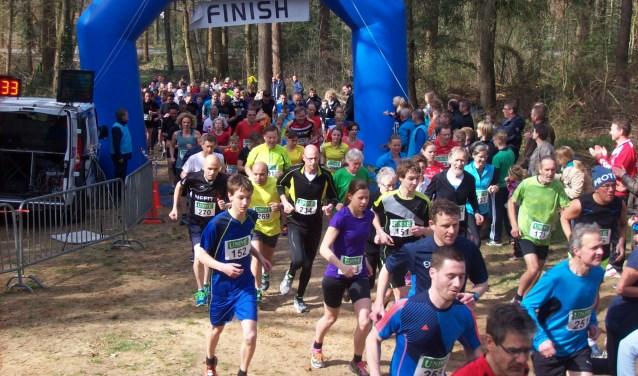 De start van de Lochemse Bergloop zal net als voorgaande jaren plaatsvinden aan de voet van deKalebergin Barchem. Foto: PR.
