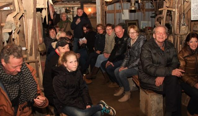 De 'nieuwe' Bekvelders bij Jan en Dinie Wagenvoort op bezoek. Foto: PR