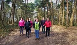 De nordicwalkinggroep van de RPV. Foto: PR