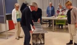 De stemmen in Ruurlo kunnen worden geteld. Foto: Jan Hendriksen