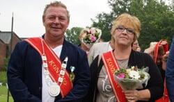 Schutterskoning Günther Freriks en zijn vrouw Liedie. Foto: Frank Vinkenvleugel