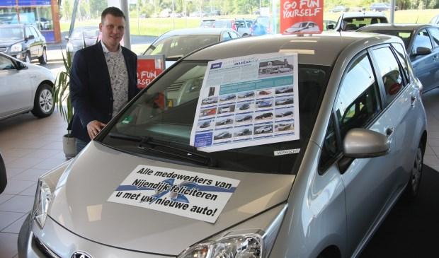 Frank Goorhuis van Automobielbedrijf Nijendijk ziet veel voordelen van Achterhoek Auto ten opzichte van andere platforms. Foto: PR