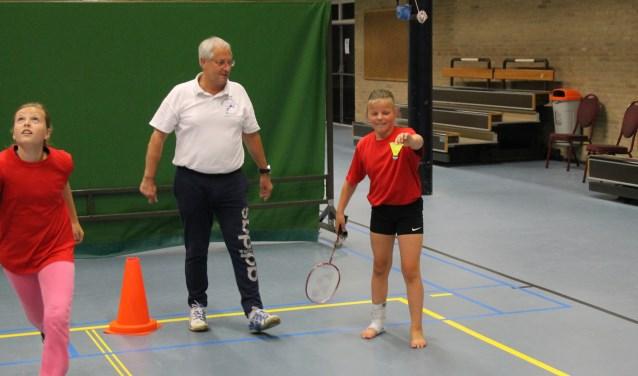 Leerlingen van de Ruurlose scholen konden sporten. Foto: PR