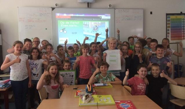 Leerlingen van De Borckeshof maakten een Safetydeal met zichzelf en klassikaal. Foto: PR