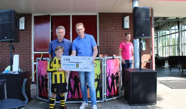 Jos Marissink, Bart Meijerink en MvR pupil Dann Schmitz. Foto: Marlous Velthausz