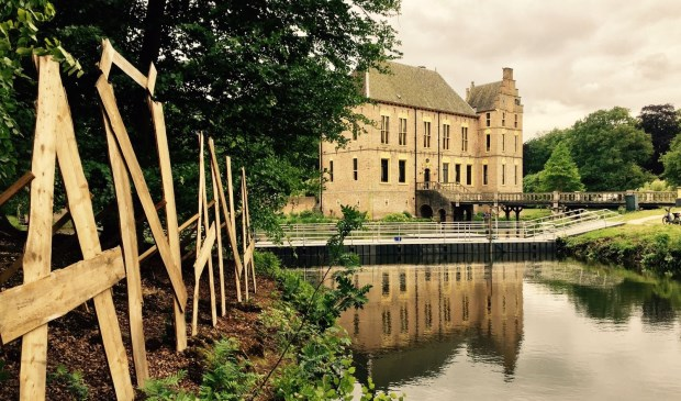 Volgens de organisatie leent het terrein bij Kasteel Vorden zich uitstekend voor het festival. Foto: PR