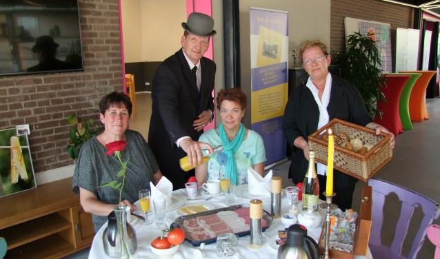 Fred en Anja van ontbijtservice De Butler. Foto: Frank VInkenvleugel