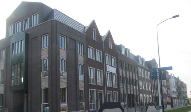 Het project Iseldoks 1 aan de C.Missetstraat; wonen in het centrum van de stad. Foto: Bert Vinkenborg