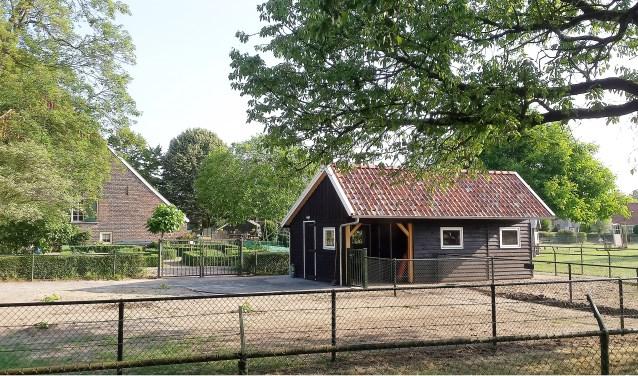 De kinderboerderij met bijenstal is ook onderdeel van De Ahof. Foto: Gerard te Hennepe