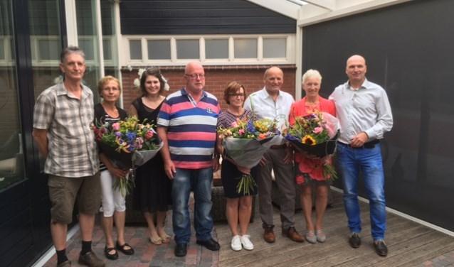 De jubilarissen van Dusseldorp. Foto: PR
