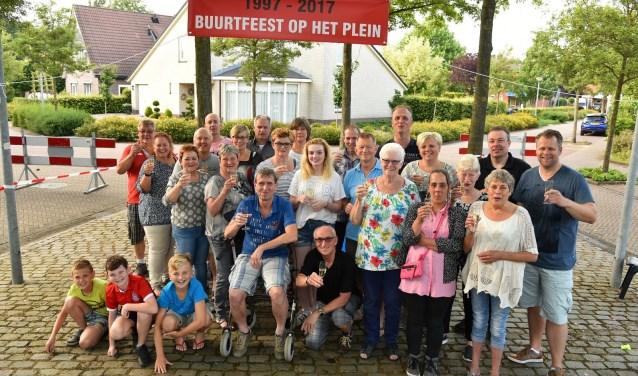 Buurt viert twintig jarig jubileum. Foto: Arno Wolsink
