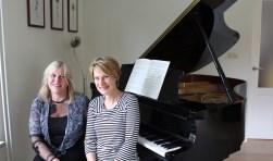 Kirsten van Oort en Anita Simmes geven een lunchconcert. Foto: PR