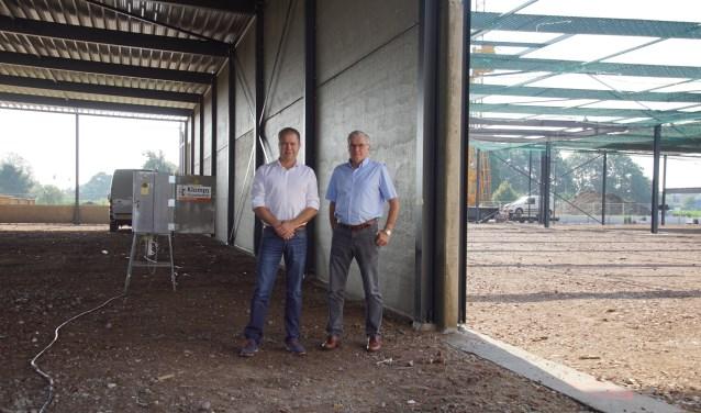 John en Joop (rechts) Leonhardt. Foto: Frank Vinkenvleugel