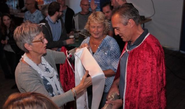 Dolf Verstege is Schutterskoning van de Noabers. Foto: PR