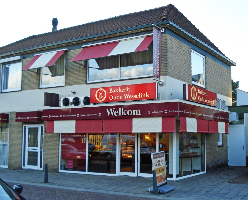 Bakkerij Oude Wesselink in Lichtenvoorde. Foto: PR