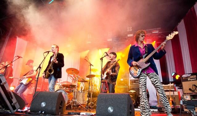 JPR Strinxband brengt Stones-tribute op Marktpop 2017. Foto: PR