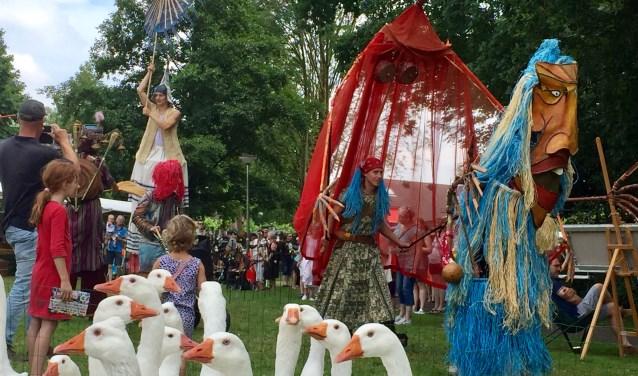 Van alles te beleven op het Achterhoeks Streekfestival. Foto: Susanne ten Have