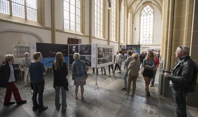 Voor het derde achtereenvolgende jaar had World Press Photo Zutphen rond de 10.000 bezoekers. Foto: Patrick van Gemert/Zutphens Persbureau