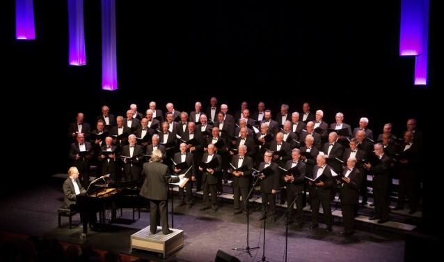 Het Ulfts Mannenkoor concerteert in de Petrus en Pauluskerk in Ulft. Foto: PR