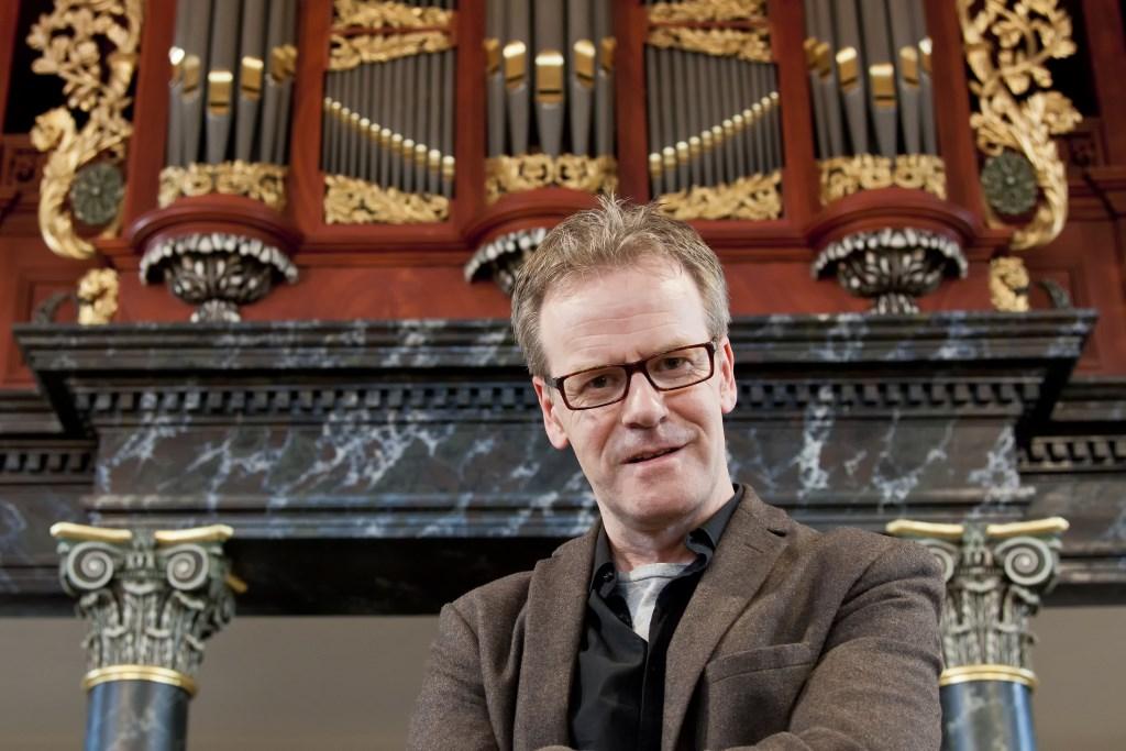 Organist Wim Ruessink. Foto: Martin Heinen
