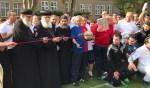 De geestelijken verzorgen samen de officiële openingshandeling. Foto: PR