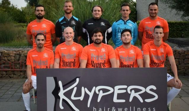 LZV Kuypers start seizoen regen Eindhoven. Foto: PR