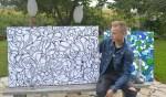 Jesse van der Horst, jongste deelnemer ooit aan Kunst en Kunstig. Foto: Joke Burink