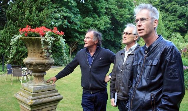 Hans Beunk, Joop Koopmanschap en Mark Ebbers. Foto: Noël Versteegen