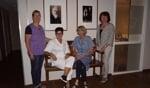 De reüniecommissie: Ria, Els, Ada en Thea. Foto: Frank Vinkenvleugel